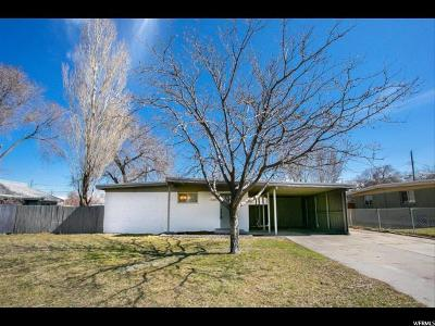 West Valley City Single Family Home For Sale: 3385 S 2040 W