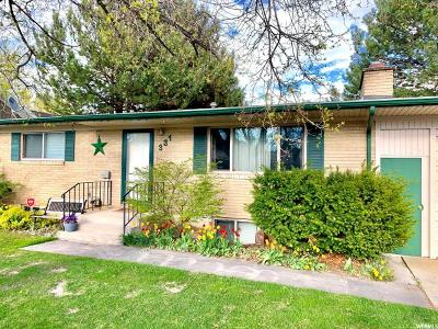 American Fork Single Family Home For Sale: 331 S 400 E