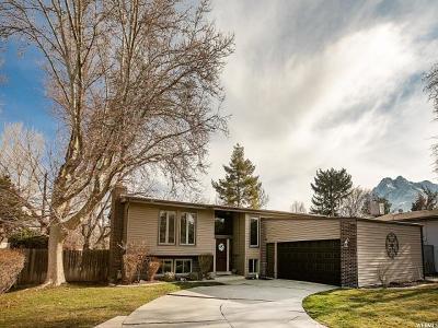 Salt Lake City Single Family Home For Sale: 1543 E Spring Run Dr S