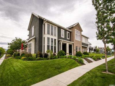 South Jordan Townhouse For Sale: 10452 S Lake Ave W