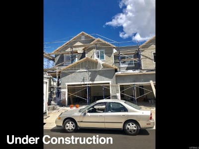 Lehi Townhouse For Sale: 4196 W 1530 N #1218