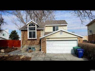 West Jordan Single Family Home For Sale: 1458 W River Ridge Dr