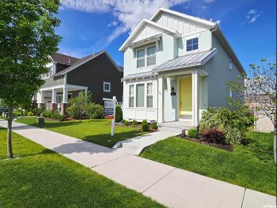 South Jordan Single Family Home For Sale: 10262 S Silver Mine Rd
