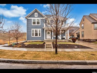 South Jordan Single Family Home For Sale: 10368 S Millerton Dr