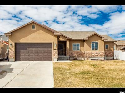 West Jordan Single Family Home For Sale: 8422 S Snow Canyon Dr W