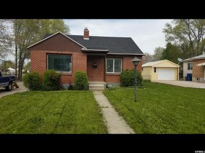 South Ogden Single Family Home Under Contract: 676 Maple St