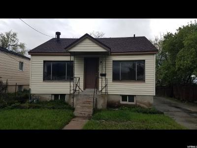 Single Family Home For Sale: 341 N 200 W