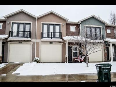 Draper Townhouse For Sale: 14811 S Chandlerpoint Way E