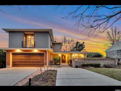 Salt Lake County Single Family Home For Sale: 1948 S Laurelhurst Dr