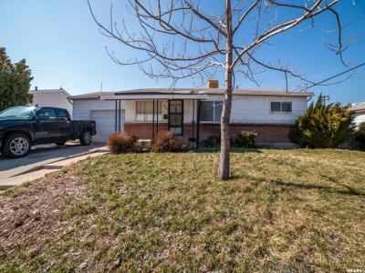 Salt Lake City Single Family Home For Sale: 4880 S 4095 W
