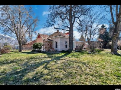 Springville Single Family Home For Sale: 686 E Center St