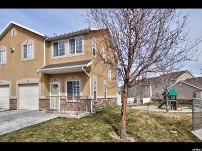 West Jordan Townhouse For Sale: 5522 W Bull Creek Ct S #4