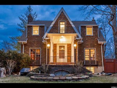 Salt Lake County Single Family Home For Sale: 1151 E Gilmer Dr S