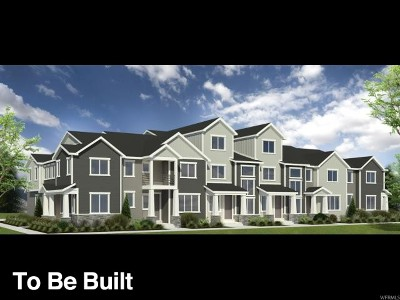 Bluffdale Townhouse For Sale: 1252 West Saddlebrook Way #205
