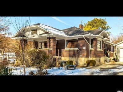 Salt Lake County Single Family Home For Sale: 1567 E Pioneer Rd