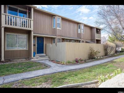 Salt Lake County Townhouse For Sale: 646 E Cobblestone Ln S