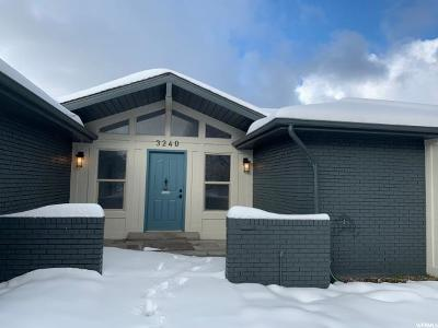 Bountiful Single Family Home Under Contract: 3240 S Bountiful Blvd E