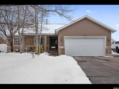 West Jordan Single Family Home For Sale: 4819 W Park Vale Dr