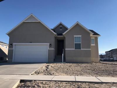 Stansbury Park Single Family Home For Sale: 713 W Fireside Ln