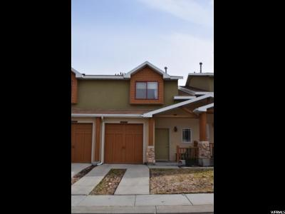 West Jordan Townhouse For Sale: 3889 W Pine Landing Way S