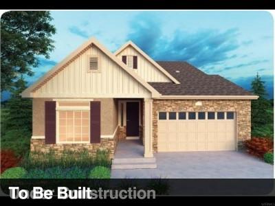 Utah County Single Family Home For Sale: 2694 N Heston Park Dr W #511