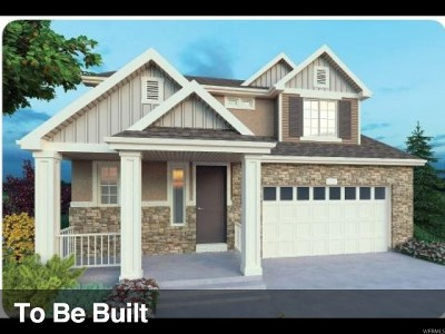 Utah County Single Family Home For Sale: 2668 N Wallace Way W #508