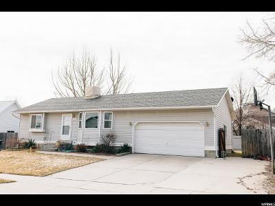 Salt Lake County Single Family Home For Sale: 5929 W Willingcott