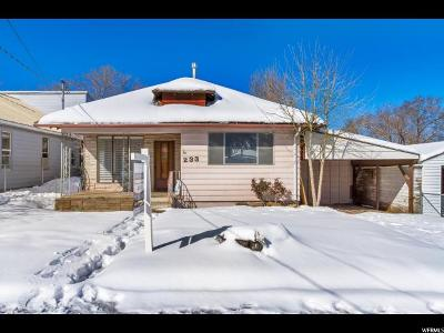 Tooele Single Family Home For Sale: 233 N 5th St