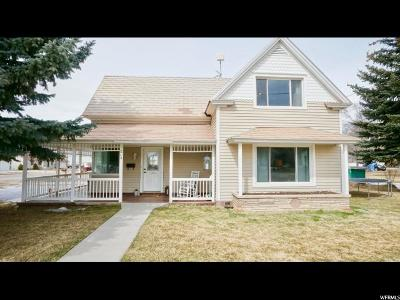 Wasatch County Single Family Home For Sale: 215 Center St E