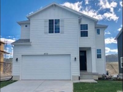Eagle Mountain Single Family Home For Sale: 4772 E Silver Ridge Rd #1718