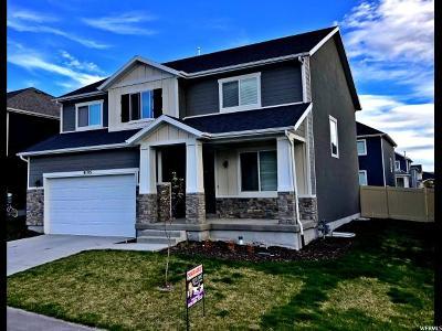 Eagle Mountain Single Family Home For Sale: 4195 E Goosegrass Way