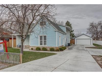 Mapleton Single Family Home For Sale: 33 N 1600 W