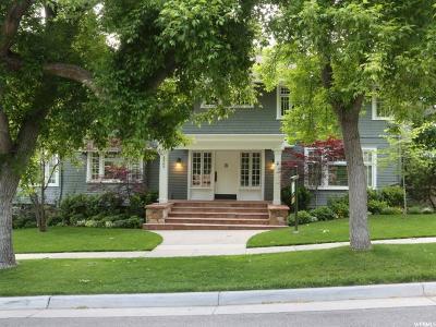 Salt Lake County Single Family Home For Sale: 1465 E Sigsbee Ave