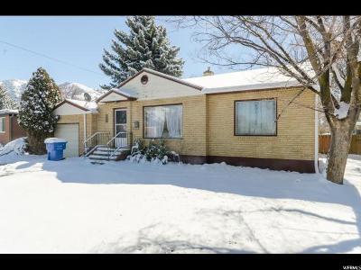 Logan Single Family Home For Sale: 1396 E 900 N