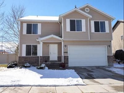 Eagle Mountain Single Family Home For Sale: 2452 E Summit Way N