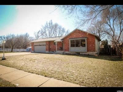 Logan Single Family Home For Sale: 1181 N 600 E