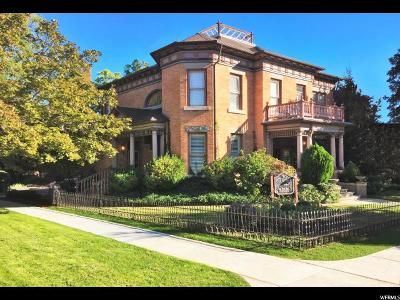 Salt Lake County Single Family Home For Sale: 140 B St