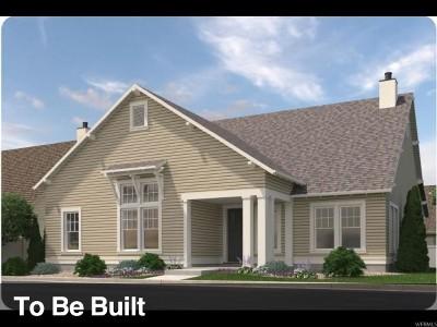 South Jordan Single Family Home For Sale: 11422 S Kitty Hawk Dr W #193