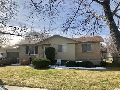 West Valley City Single Family Home For Sale: 4875 W Hellas Dr