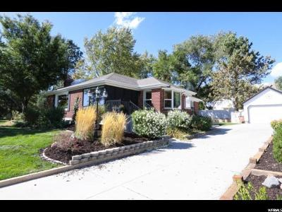 Salt Lake County Single Family Home For Sale: 1201 E Pioneer Rd