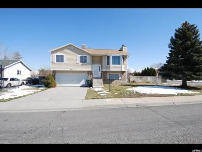 West Valley City Single Family Home For Sale: 4585 S 3720 W