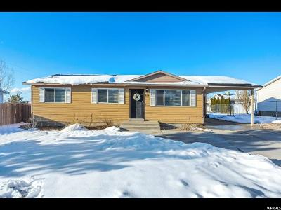 Tooele Single Family Home For Sale: 874 W 770 S