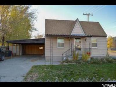 Salt Lake City Single Family Home For Sale: 3804 S 2200 W