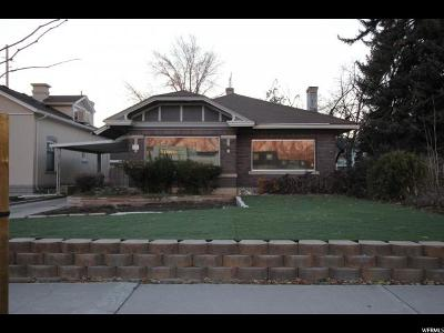 Provo Single Family Home For Sale: 719 N University Ave