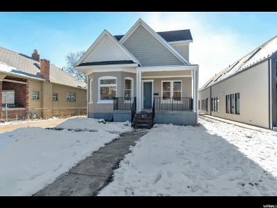 Salt Lake County Single Family Home For Sale: 758 E 700 S