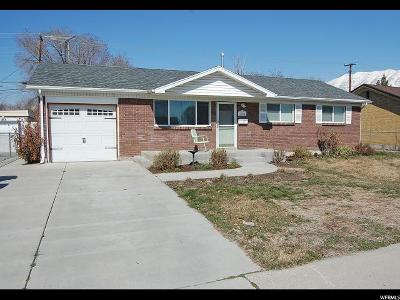Utah County Single Family Home For Sale: 1750 W 80 S