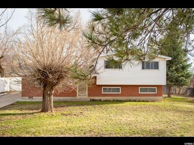 Farmington Single Family Home For Sale: 52 E 125 S