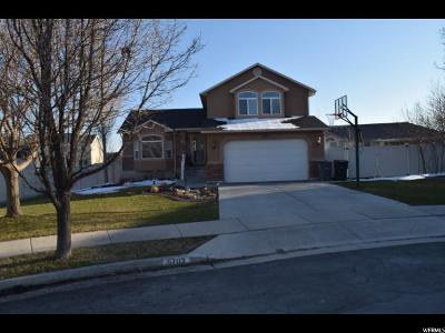 South Jordan Single Family Home For Sale: 5703 W Sandy Stone Cir S