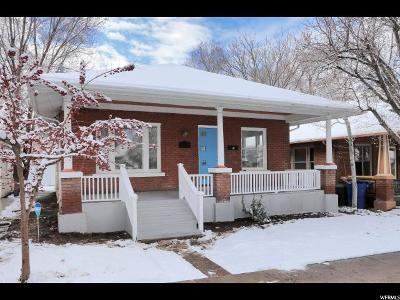 Salt Lake City Single Family Home For Sale: 1060 E Harvard Ave S