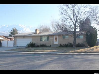 Orem Single Family Home For Sale: 1572 N 1040 W